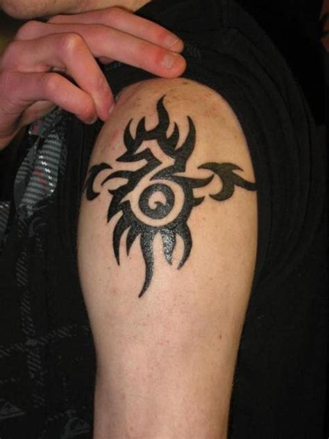 tribal name tattoos for men 61 tribal shoulder tattoos