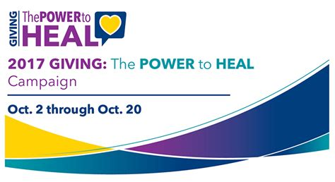 Power To Heal by Power To Heal Caign Medstar Washington