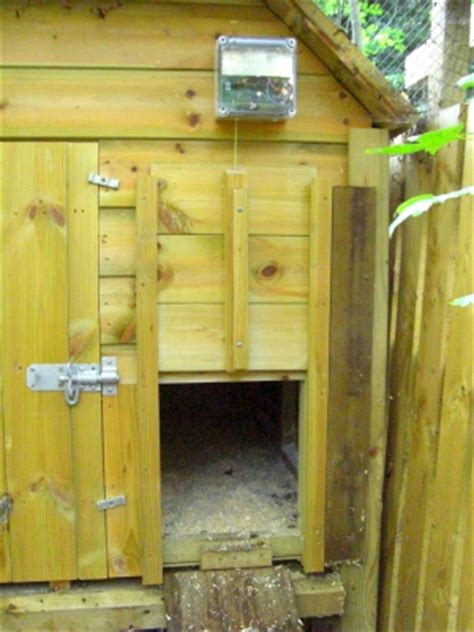 automatic chicken coop door the really
