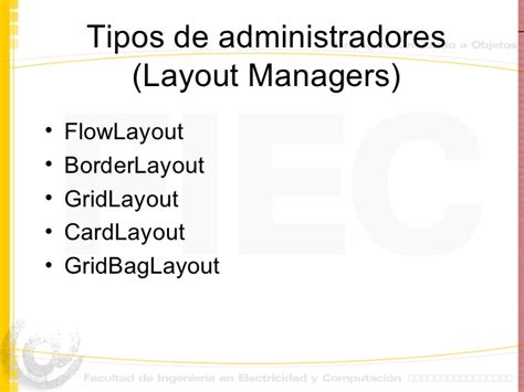 como usar layout manager java como usar layout manager java java netbeans
