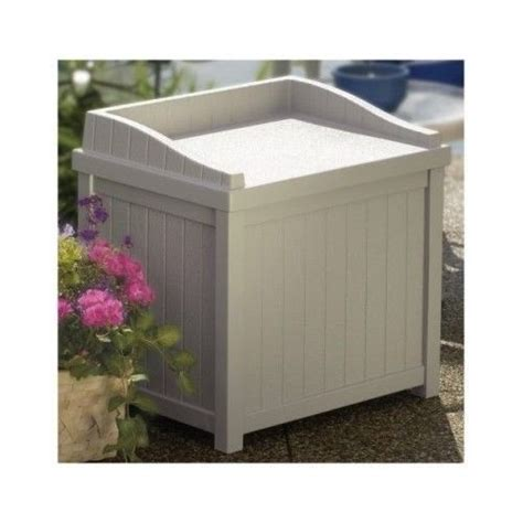 pool bench storage box patio storage seat pool bench home outdoor garden