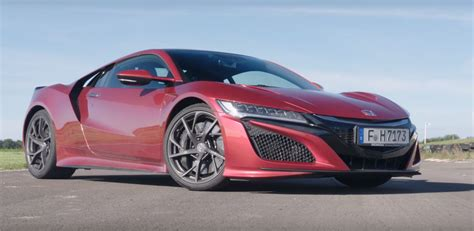 2017 acura nsx roasted by 2017 porsche 911 turbo audi r8