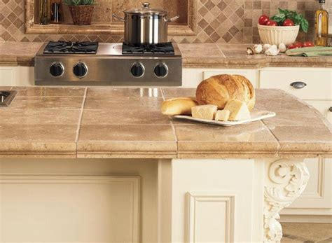 Ceramic Tile Kitchen Countertops Classic Kitchen Countertops For Kitchens