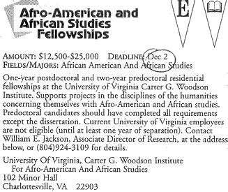 Uncf Mba Scholarship by Afro Studies Fellowship