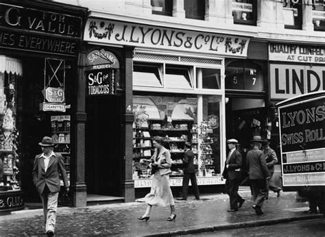 Lyons Tea Rooms by The Rise And Fall Of The Lyons Cornerhouses And Their