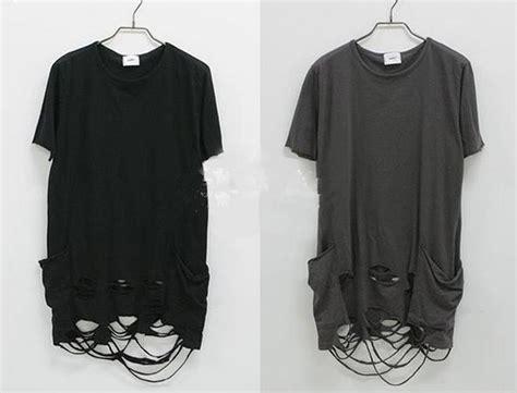Fashion Ripped T Shirt popular ripped shirt designs buy cheap ripped shirt