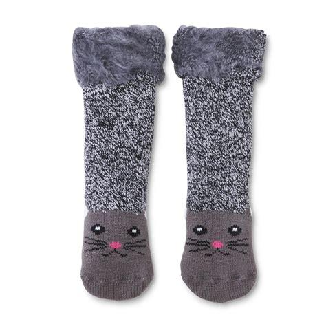 cat sock slippers s slipper socks cat shop your way