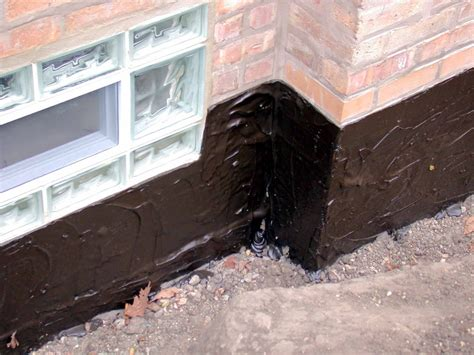 chicago basement waterproofing chicago basement waterproofing exterior waterproofing membrane
