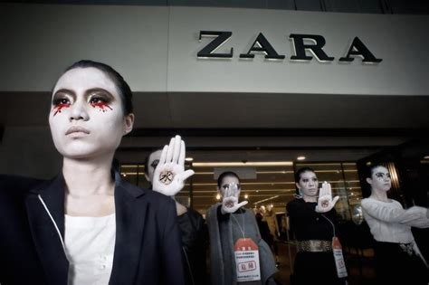 Greenpeace Detox by Fashion Mannequins Revolt On A Detox Day Of