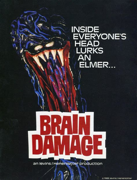 Ghost Writer Movie poster brain damage 1988 by xguarawolfx on deviantart