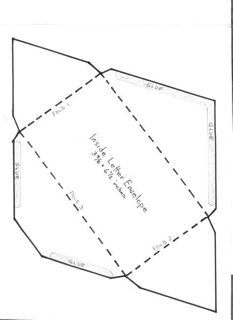 envelope templates for card envelope template