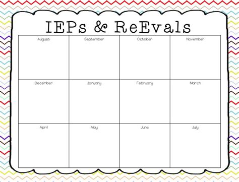 special education schedule template a special sparkle back to school 10 tips for leading an