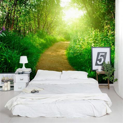 nature wall murals nature s path wall mural