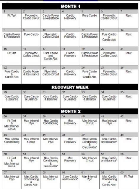insanity calendar printable calendar picture templates
