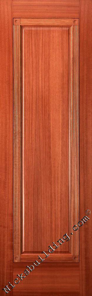 Interior Mahogany Wood Doors Interior Doors One Panel Doors