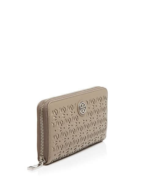 H Mes Wallet burch wallet robinson floral perforated zip