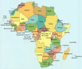 Modern Map Of Africa by Jspivey Jhn