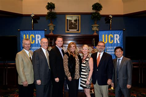 Ucr Business Mba by Ucr Today Ucr Business School Receives 2 5 Million Gift