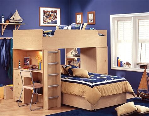 bunk bed and desk combo small space loft bed and desk combo