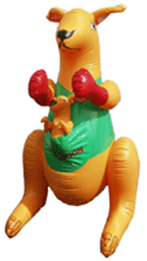 aussie products com inflatable boxing roo with joey 3ft