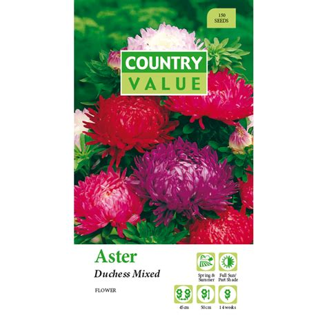Country Value Marigold Mixed bunnings country value country value aster duchess mixed flower seeds compare club