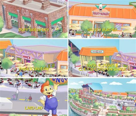 theme park on the simpsons a simpsons theme park to open with a real life krusty