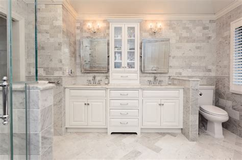 master bathroom remodel with double sink mahwah nj flush inset cabinetry double vanity in marble master bath
