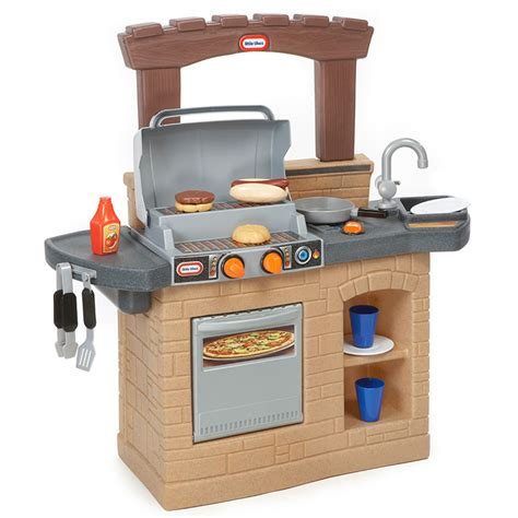 little tikes backyard barbecue little tikes cook n play outdoor bbq new ebay