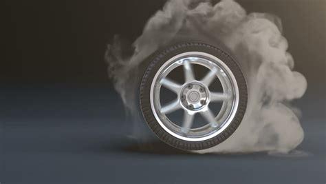 color burnout tires tire burnout stock footage