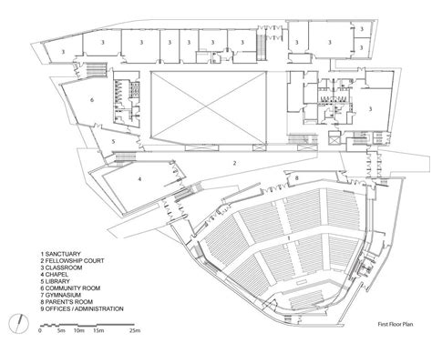 traditional church floor plans gallery of scarborough chinese baptist church teeple