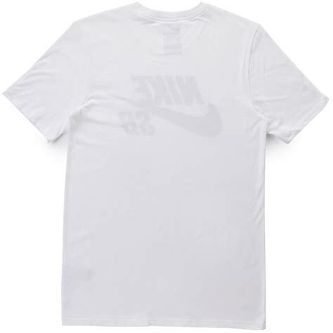 T Shirt Nike Logo White nike sb logo t shirt white white black