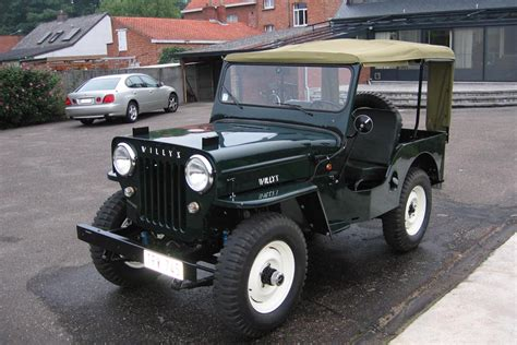 1957 Willys Jeep 1957 Willys Cj 3b Information And Photos Momentcar