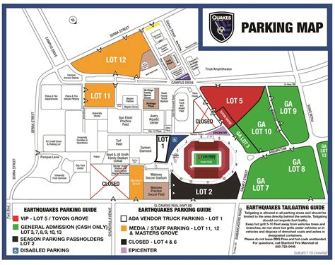san jose earthquakes directions parking information stanford stadium san jose earthquakes