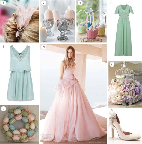 Egg Themed Dresses From Browns For Easter by Easter Wedding Theme