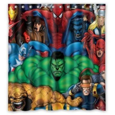 avengers shower curtain the avengers shower curtain superhero collection