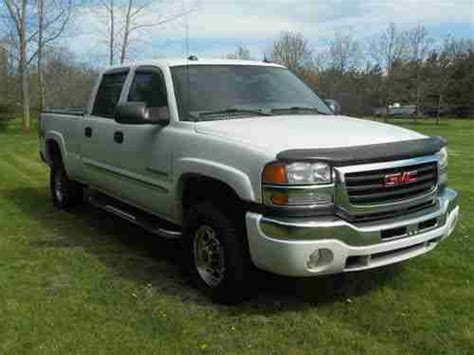 how can i learn about cars 2004 gmc sonoma lane departure warning purchase used 2004 gmc sierra 2500 hd slt crew cab pickup 4 door 8 1l in milan michigan united