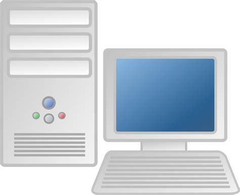 public domain clip art image illustration   computer