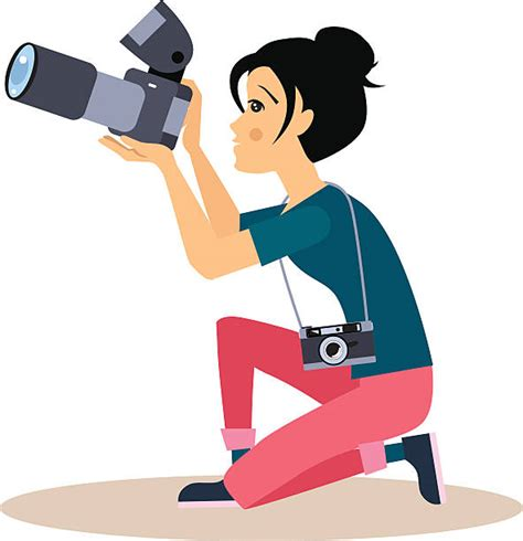 photographer clipart photographer clip vector images illustrations