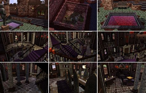 Floor Plans For Minecraft Houses mod the sims flesh and bones the vampire castle