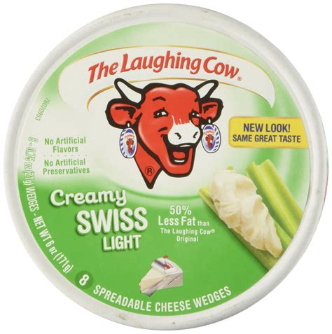 laughing cow light cheese the laughing cow white cheddar flavor 6 oz 8 75