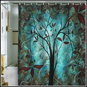 curtains brown and teal teal and brown shower curtains curtains home design