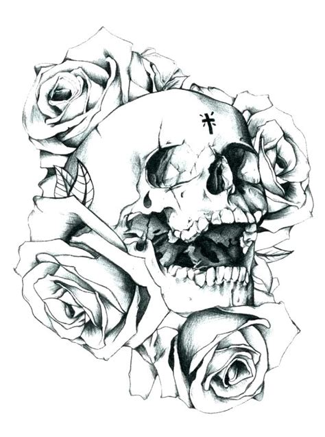 skull coloring sheets skulls and roses coloring pages collection free coloring