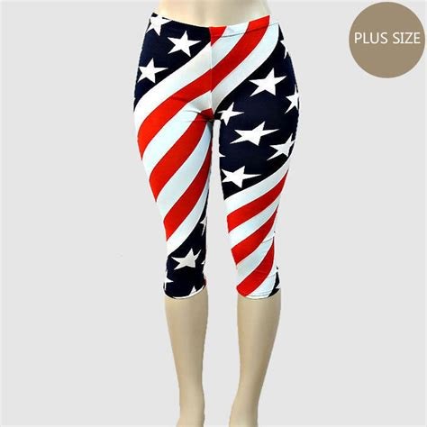 pattern rendered earth leggings price women s plus size american flag red white blue pattern