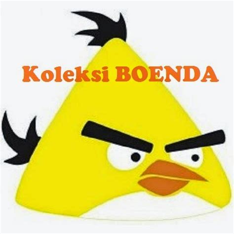 Kaos Angry Bird kaos flanel angry bird kuning kf 17 koleksi boenda