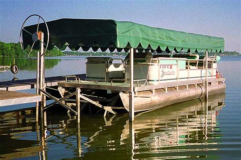 pontoon lift docking solutions pontoon lift