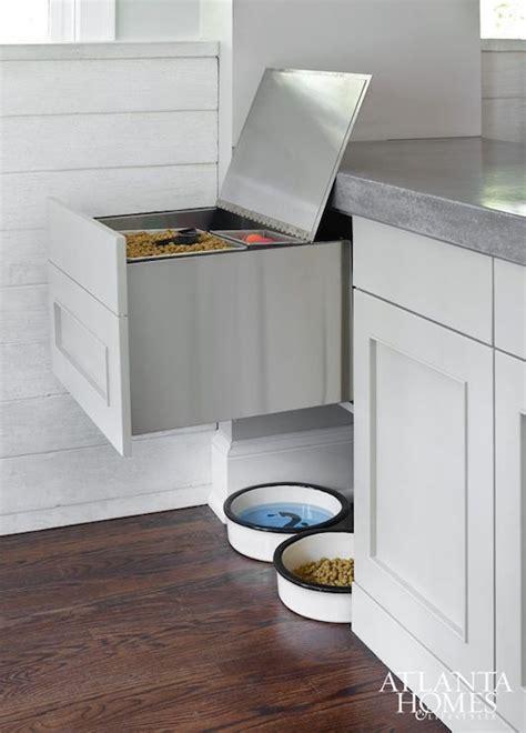 Dog Food Storage Ideas Contemporary Kitchen Food Storage Ideas For Small Kitchen