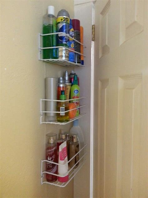behind bathroom door storage pin by antonia dobrinova on organization pinterest