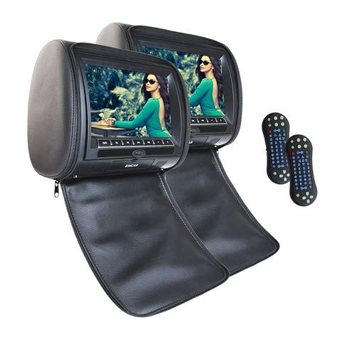 Tv 5 6 Inch Headrest Tv Mobil eincar 2 x eincar 9 inch digital display screen headrests dvd player monitor car seat