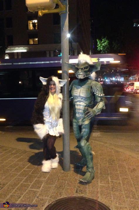 gremlins gizmo  stripe couple halloween costume photo