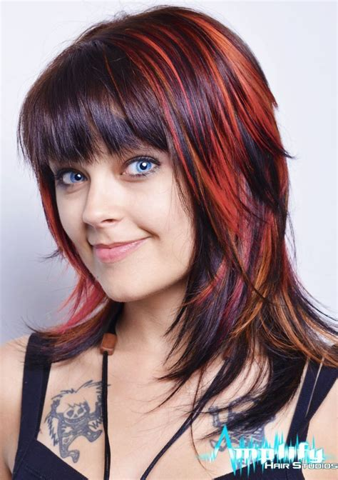 hairstyle with lots of hilights for 50 25 best ideas about funky medium haircuts on pinterest
